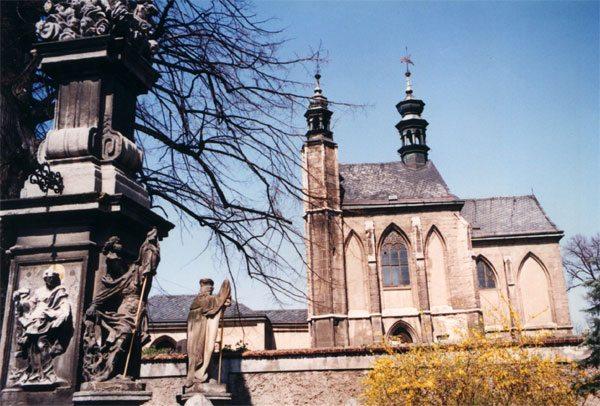 kostol všetkých svätých - Sedlec