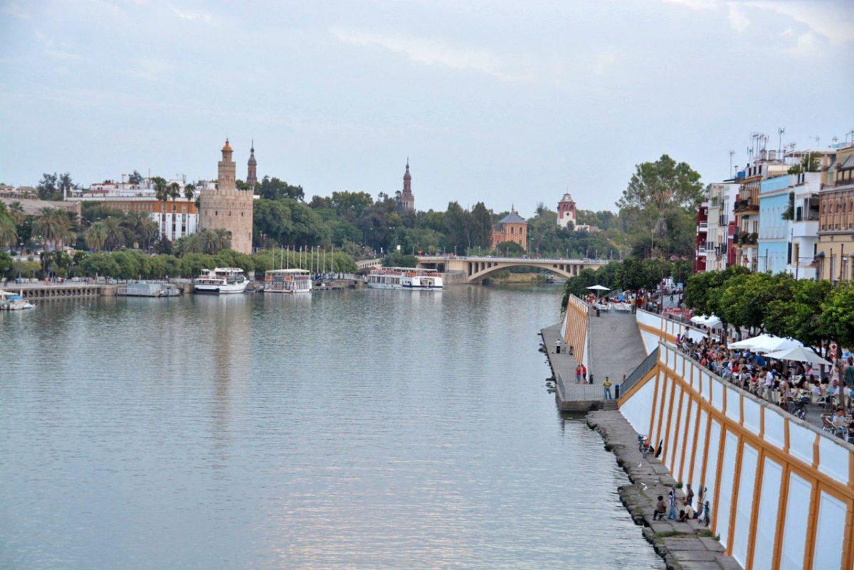 Sevilla - promenáda