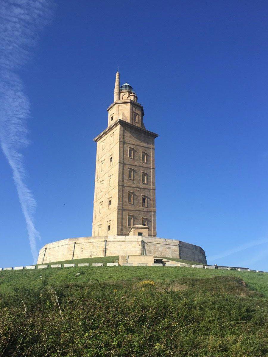 Maják - La Torre de Hercules
