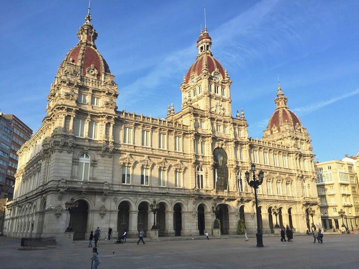 Radnica - Plaza de Maria Pita