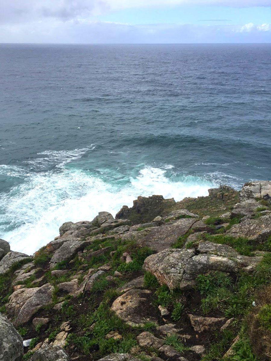 Výhľad z majáka Finisterra