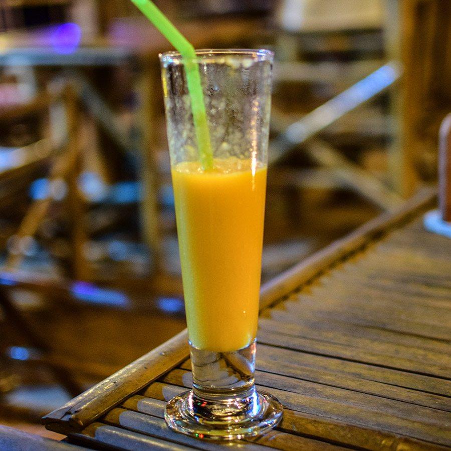 mangový džús