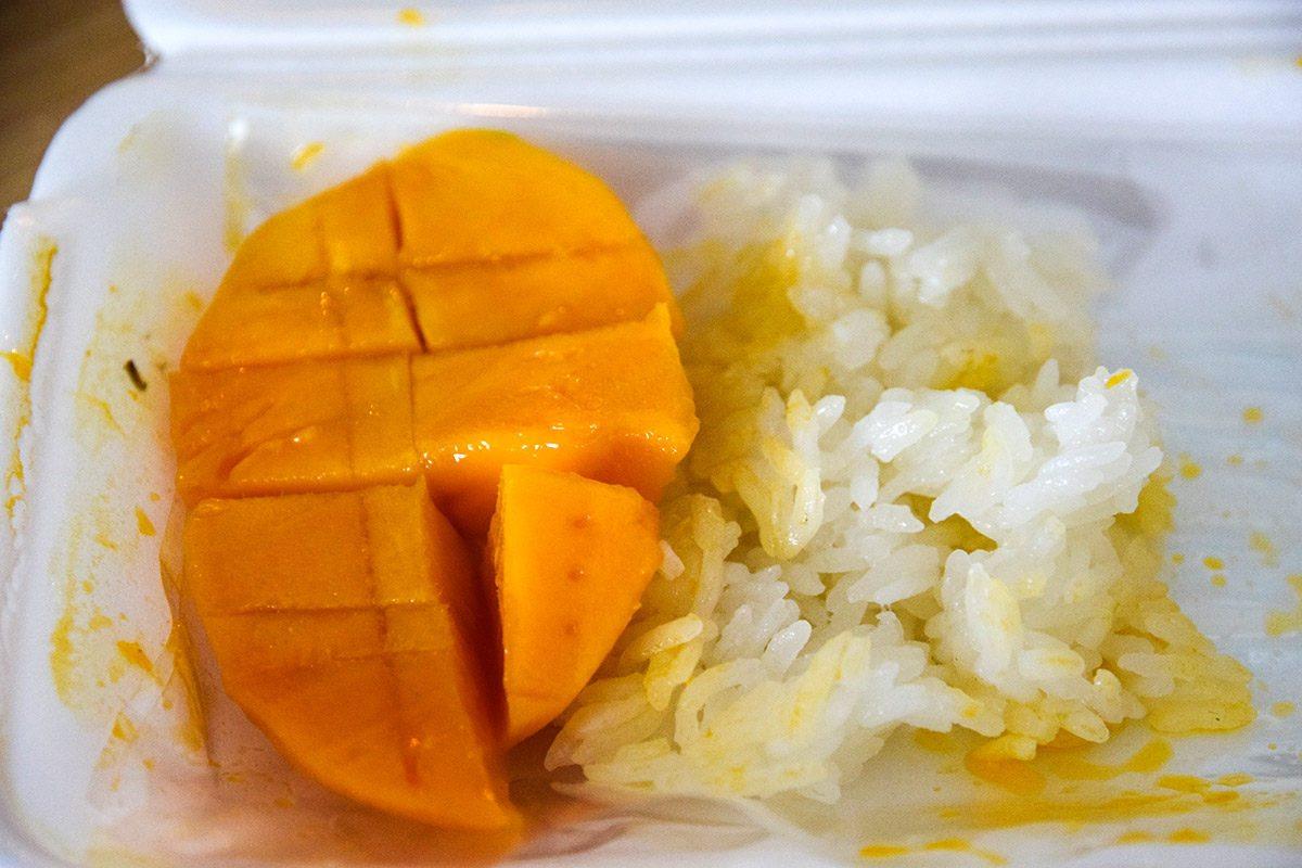 mango s ryžou