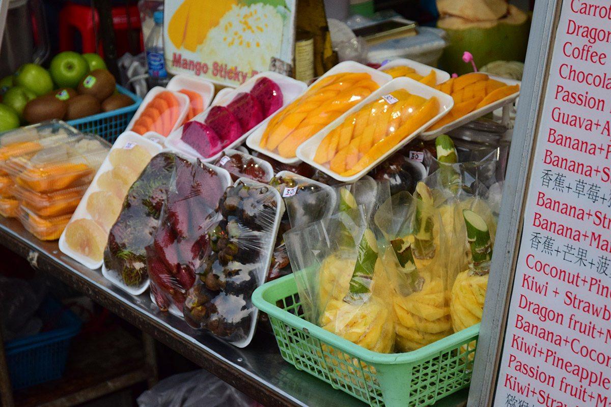 tropické ovocie krabi