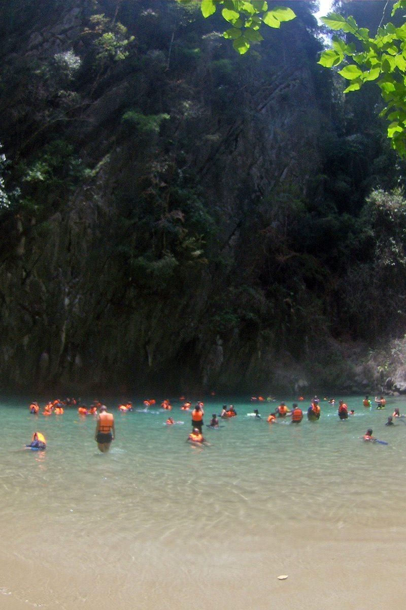 emerald cave Ko Mook
