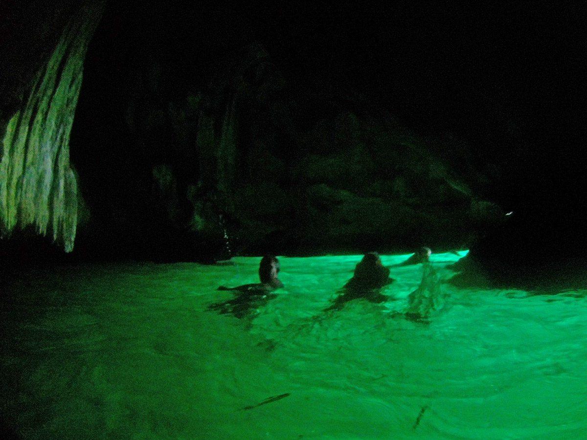 morská jaskyňa koh mook