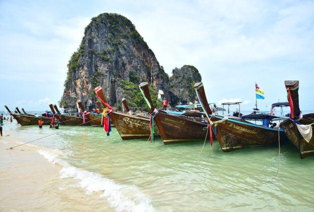 thajské ostrovy - pláž phra nang
