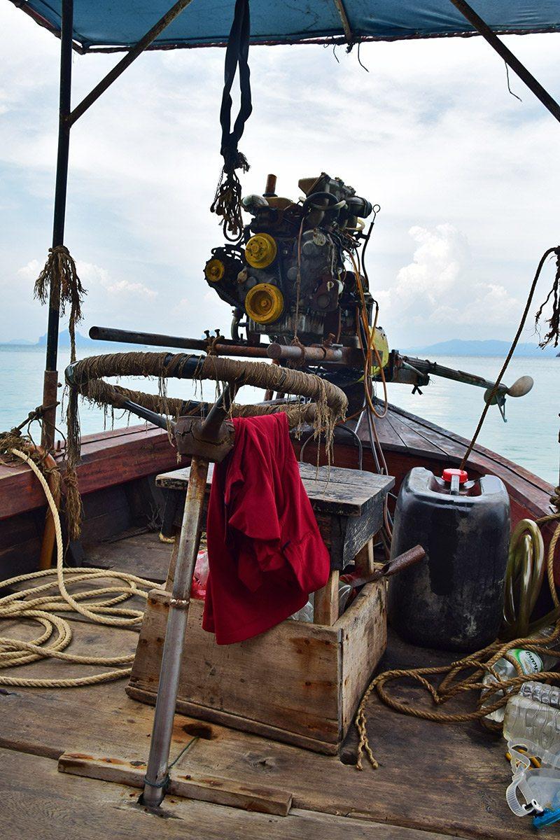 longtail boat - koh lanta