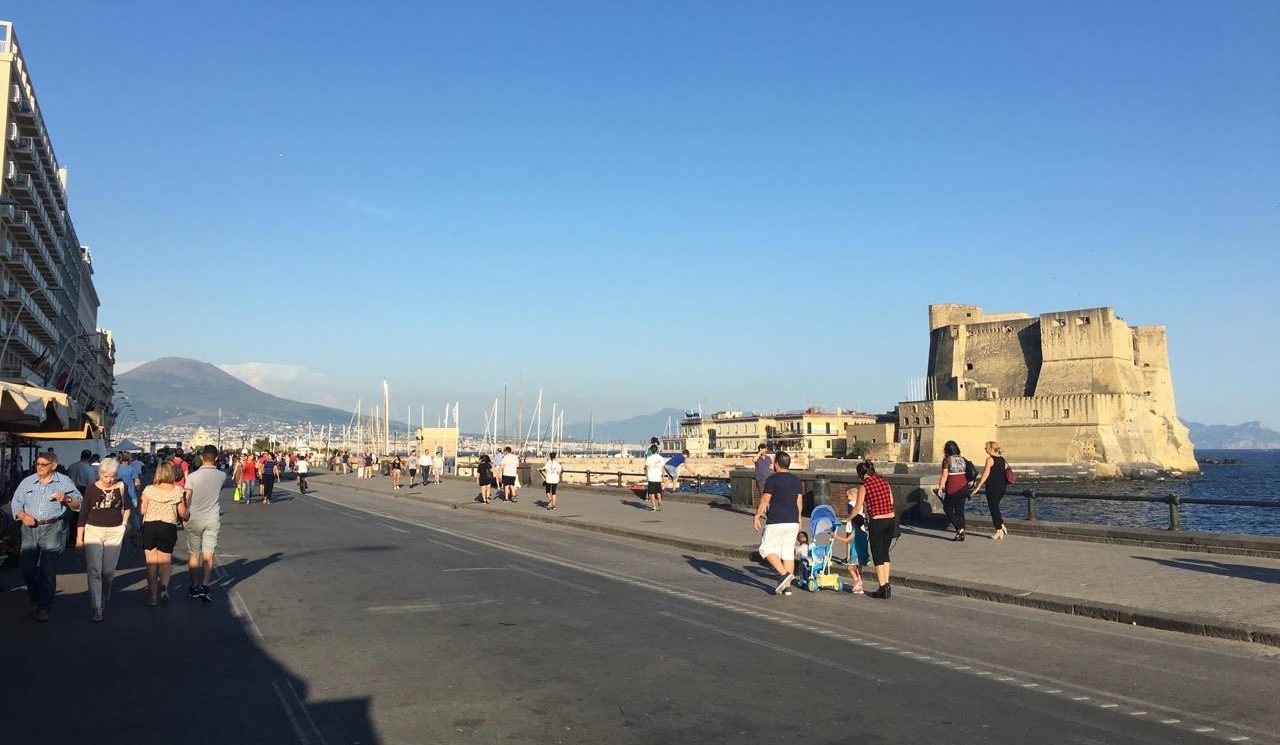 Neapol promenáda