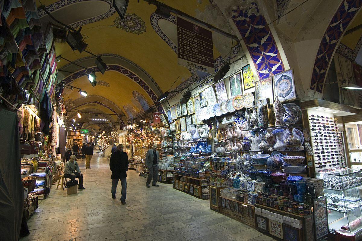Grand Bazaar Istanbul - najnavstevovanejsie atrakcie