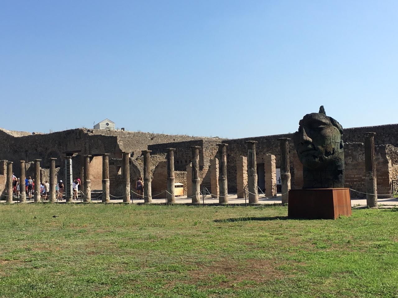 piazza - pompeje