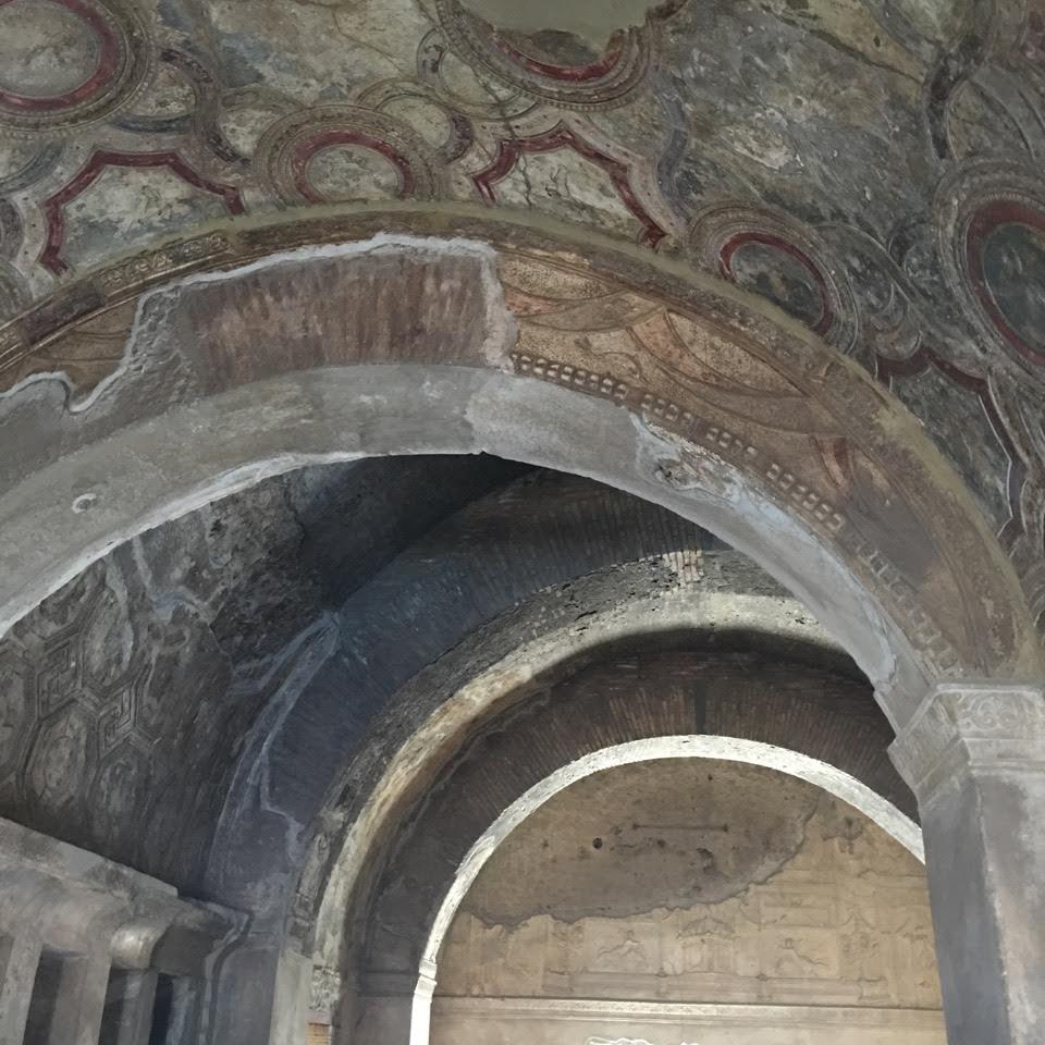 kúpele v pompejach