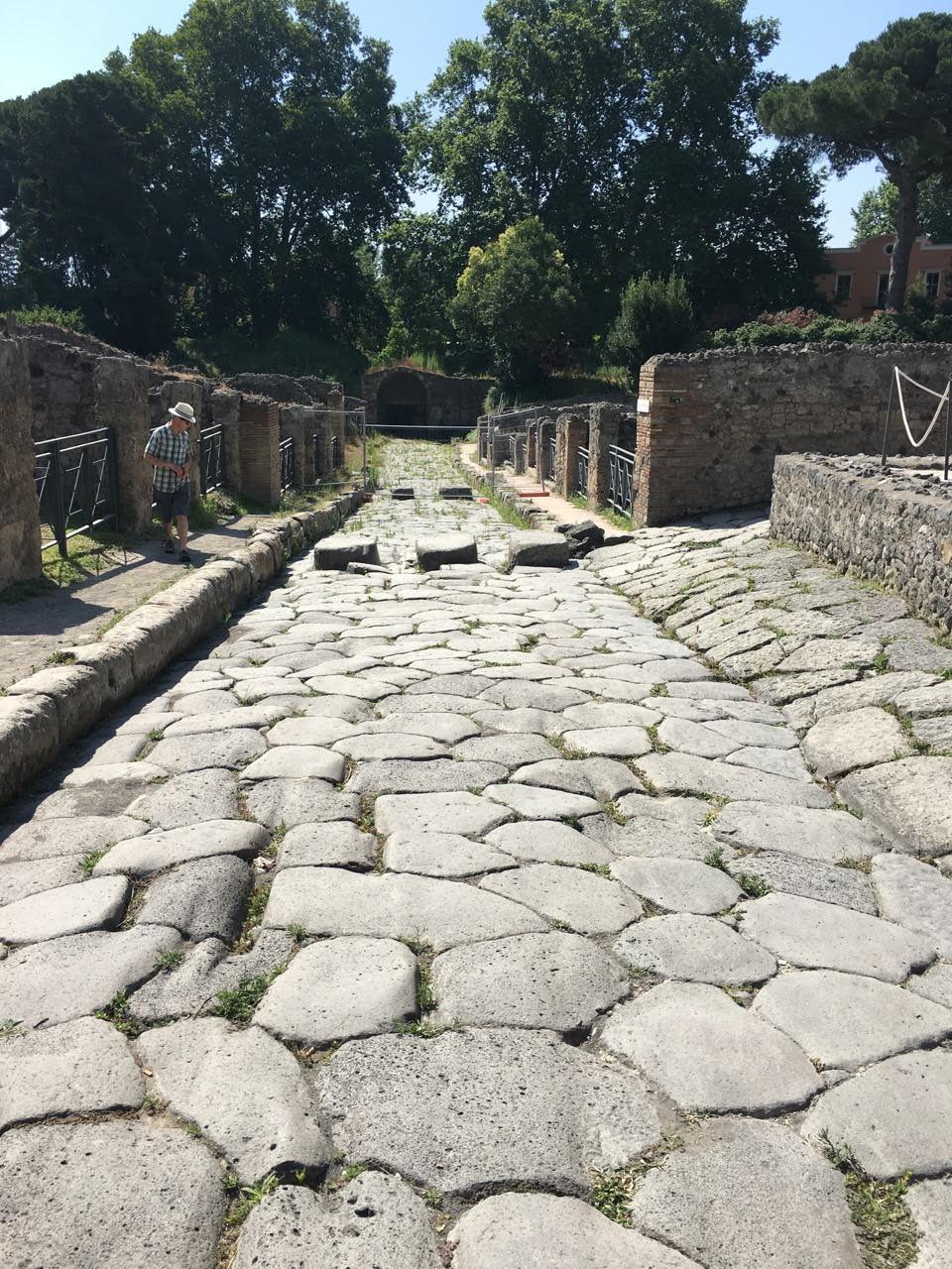 Ulice Pompeje
