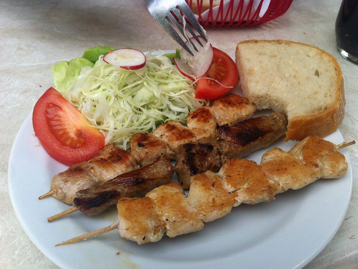 balkánska kuchyňa - reštaurácia dora