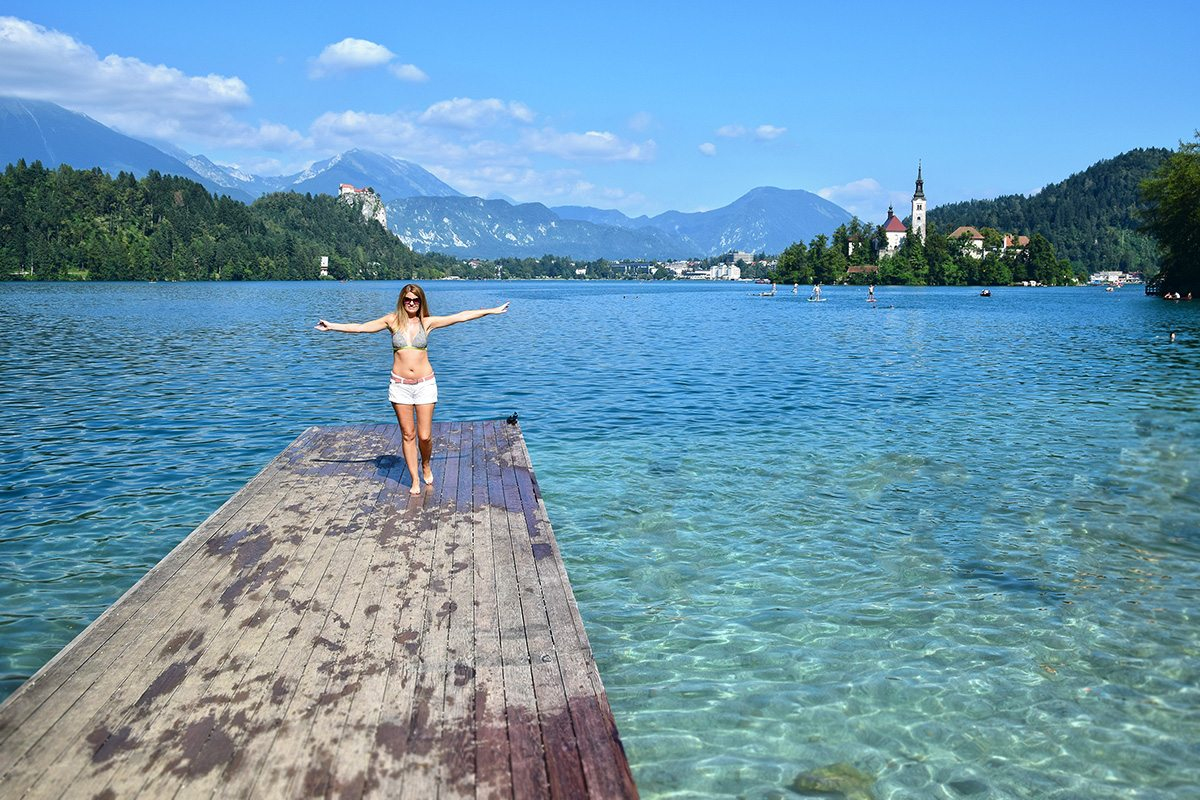 voda jazero Bled