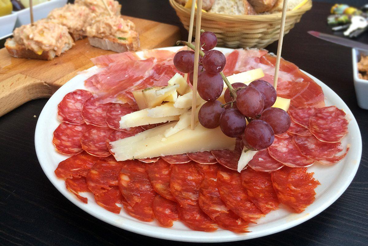 tapas - španielska kuchyňa
