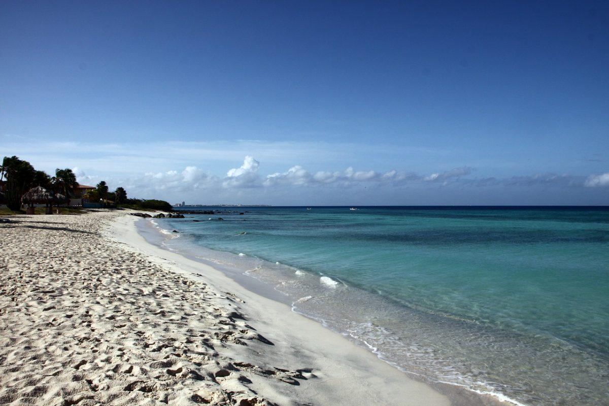 svadobna cesta - Aruba