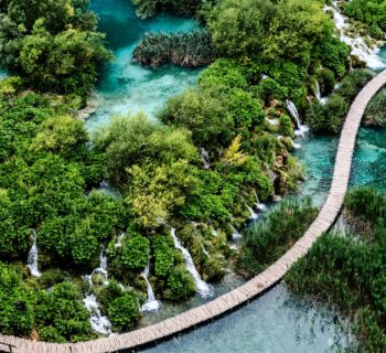 najkrajsie jazera - plitvice
