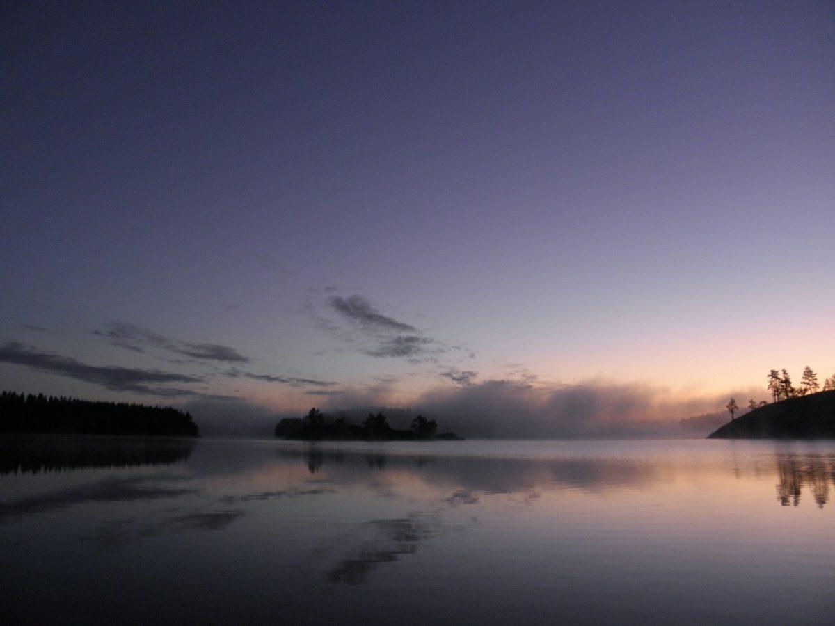 najkrajsie jazera - Saimaa