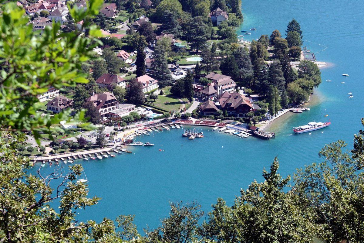 najkrajsie jazera -Jazero Annecy