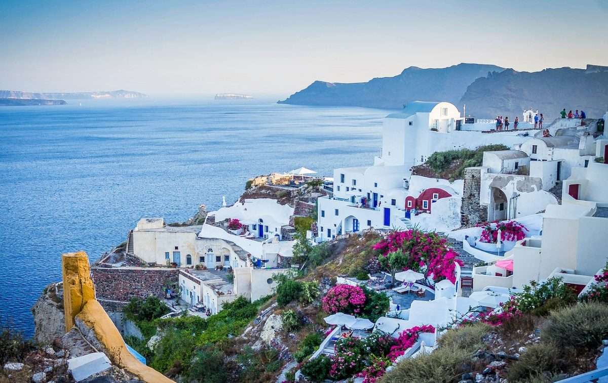 svadobna cesta - Santorini