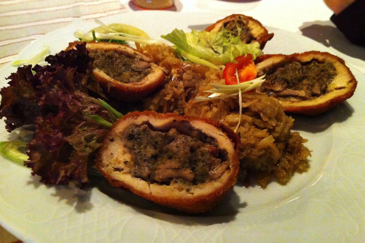 mäsové guličky