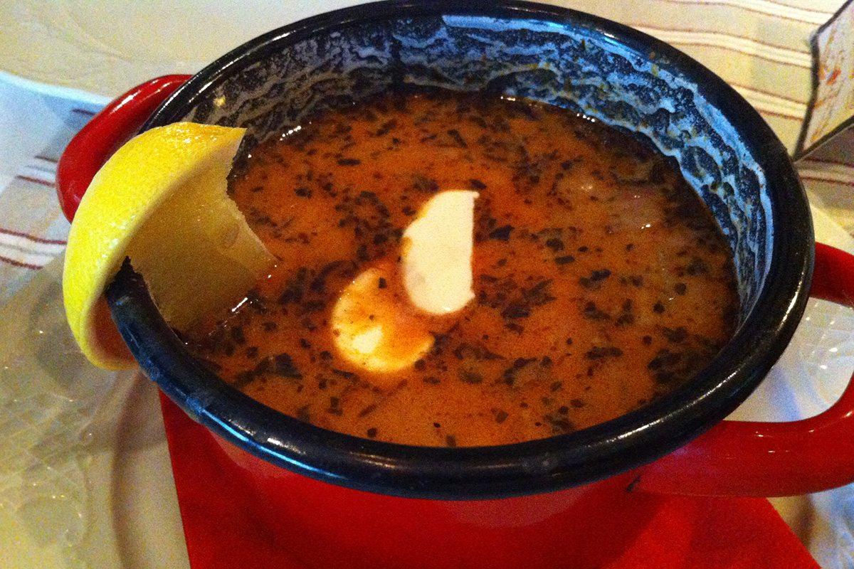 maďarská polievka