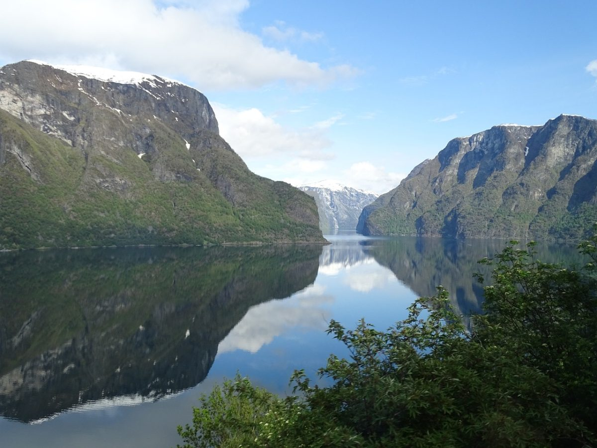 najkrajsie jazera - Sognefjord