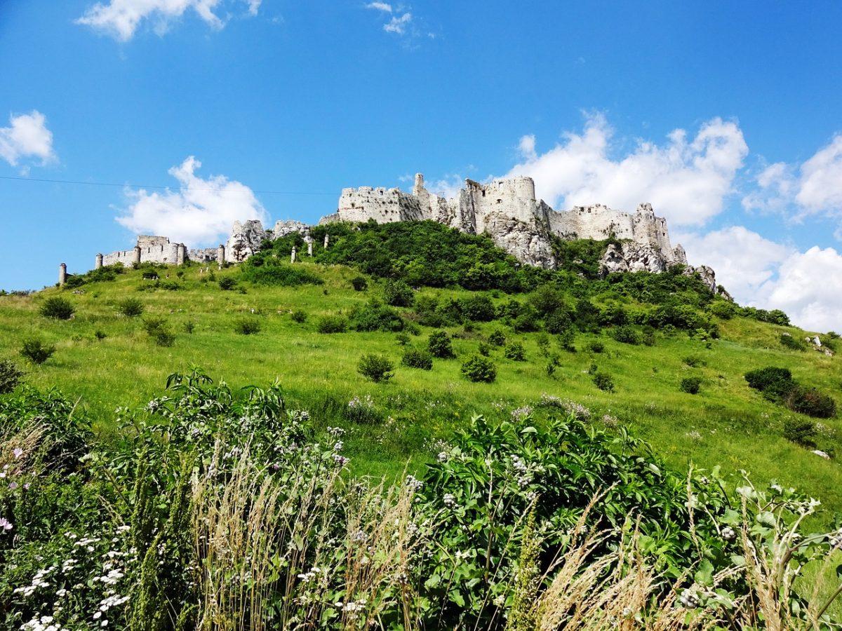 vychodne slovensko - Spišský hrad