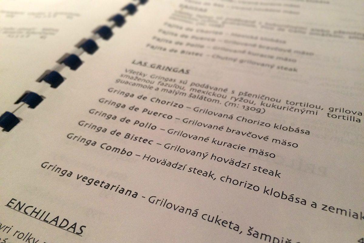 mexická reštaurácia