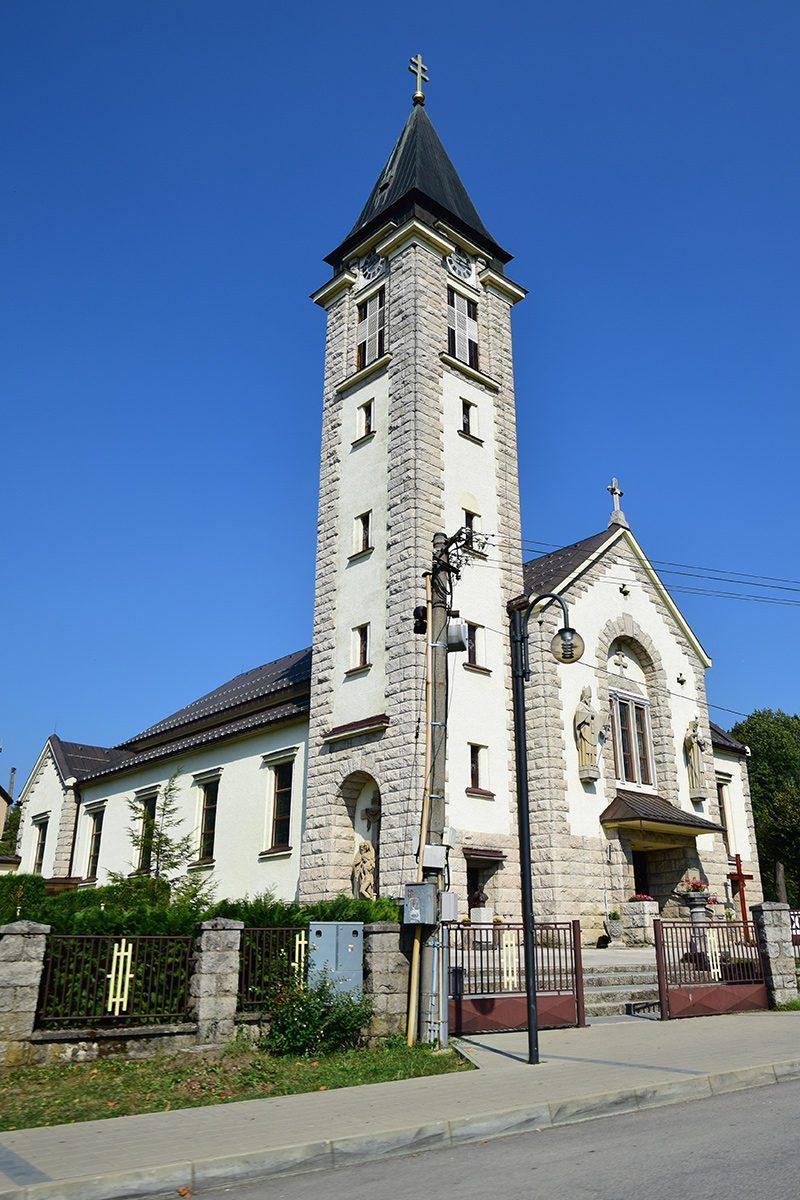 terchová kostol sv. cyrila a metoda