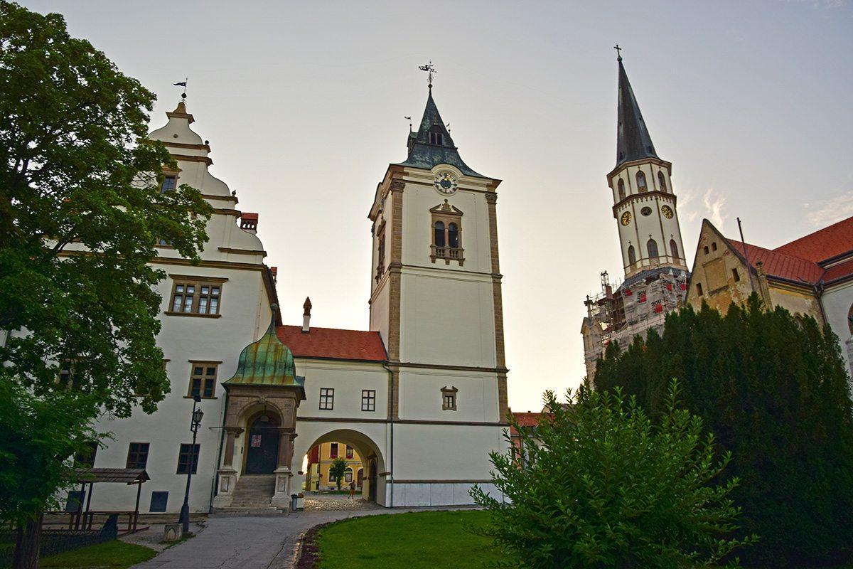 kostol Levoča