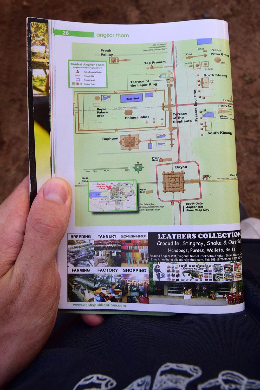mapa angkor wat