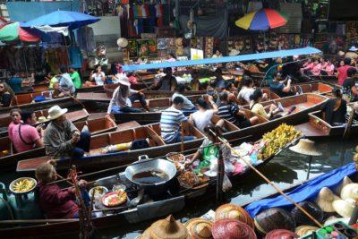 plávajúce trhy