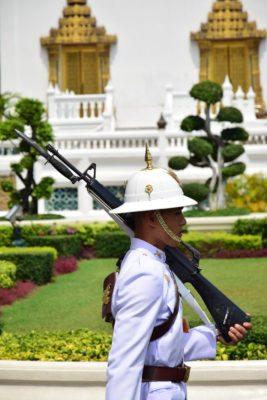 thajská stráž