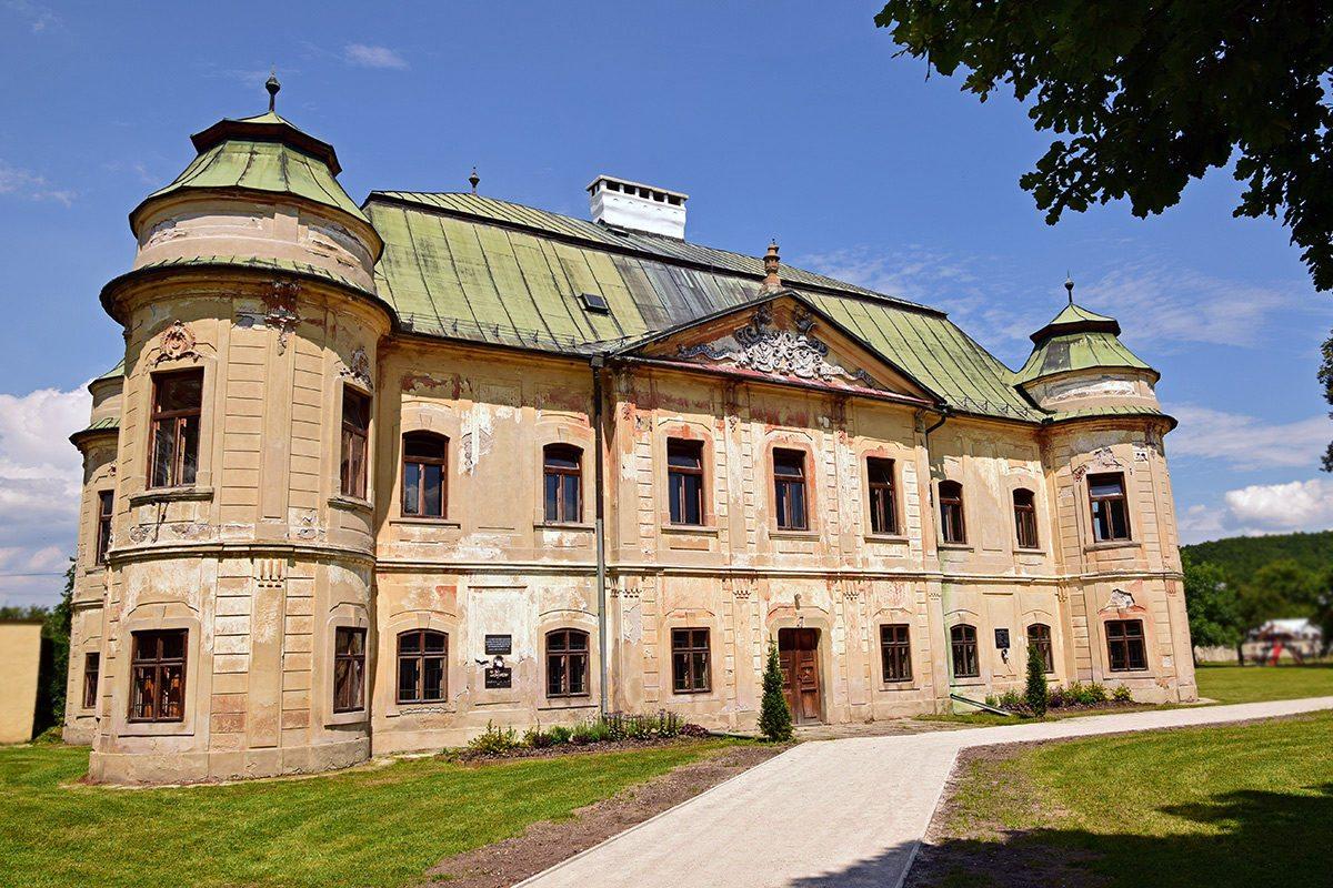 barokový kaštieľ Hronsek