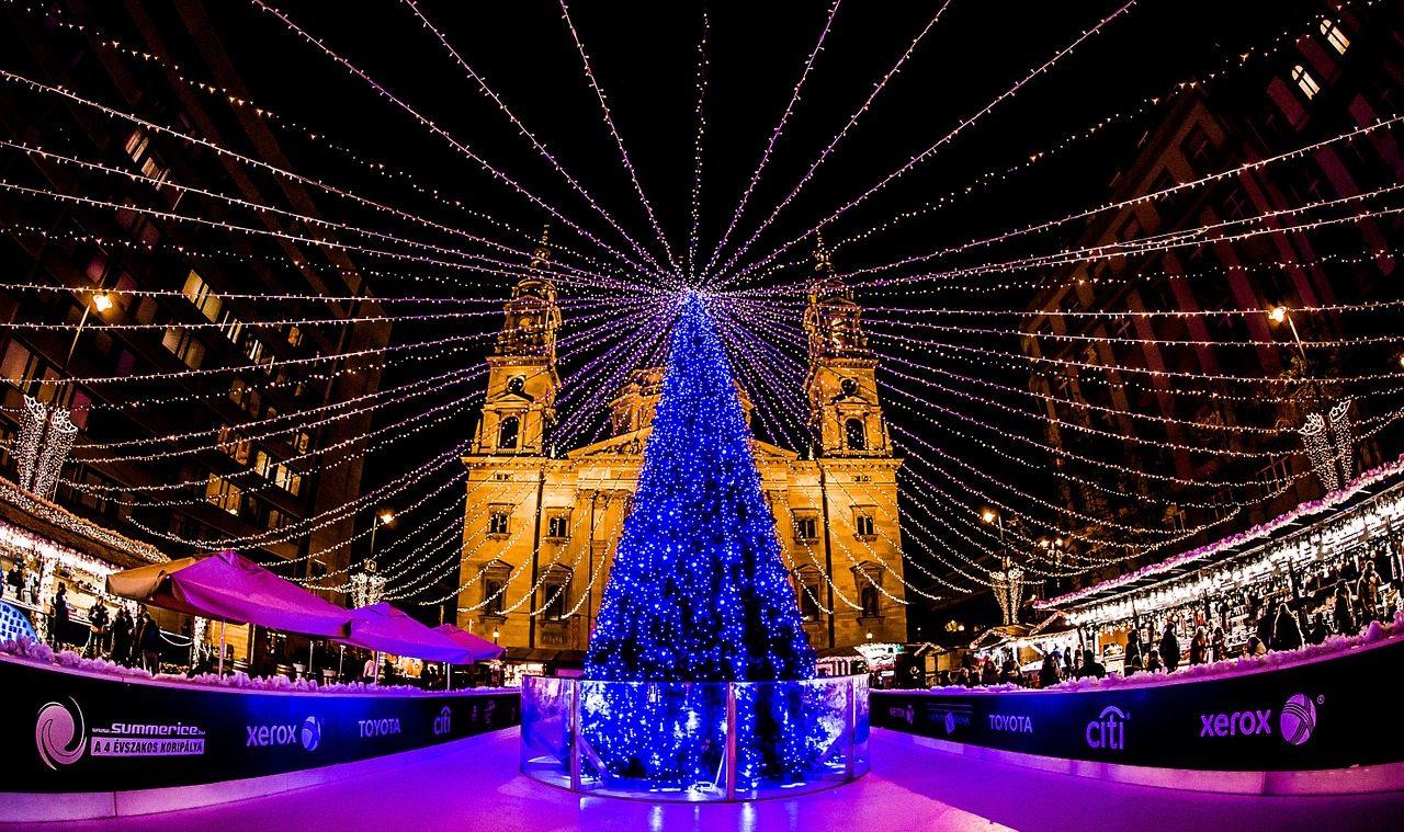 Budapešť na vianoce