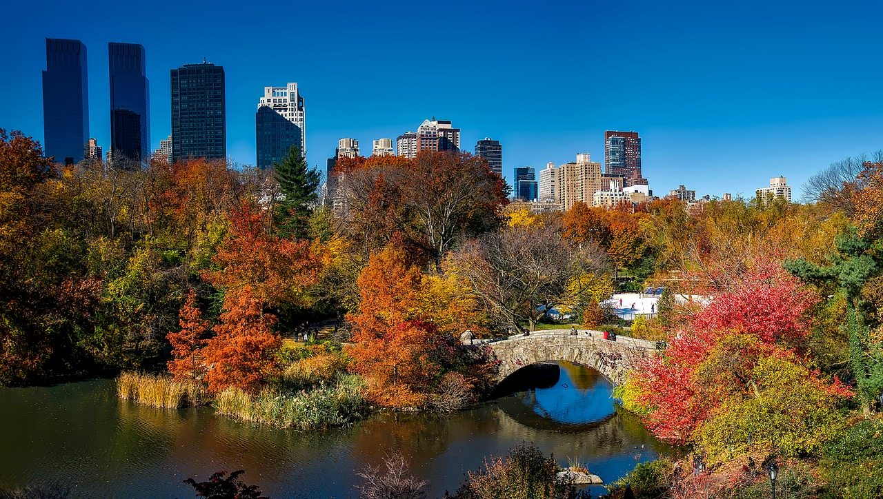 kam na dovolenku na jeseň - new york