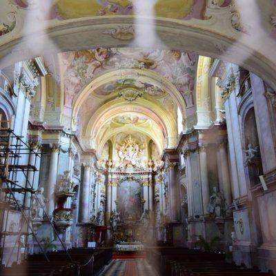 výzdoba kostola Jasov