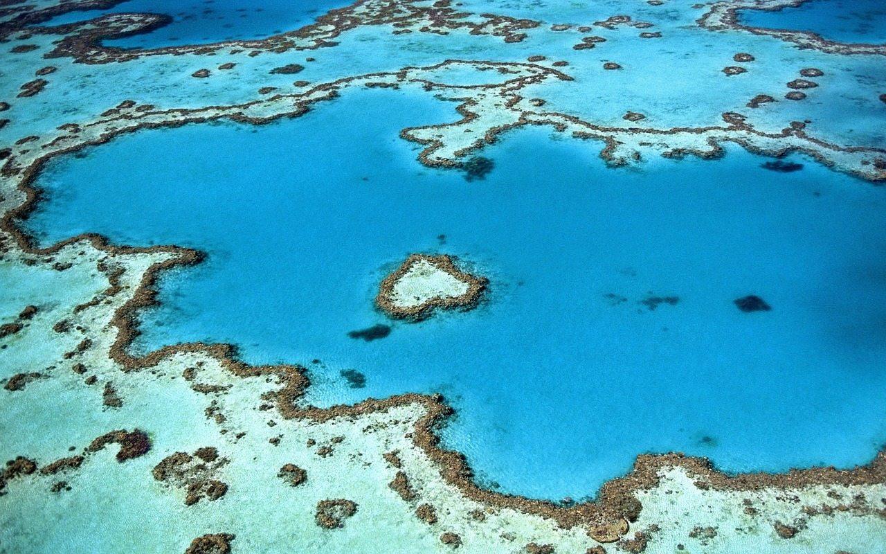 koralové ostrovy