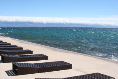 chorvátsko - betónové pláže