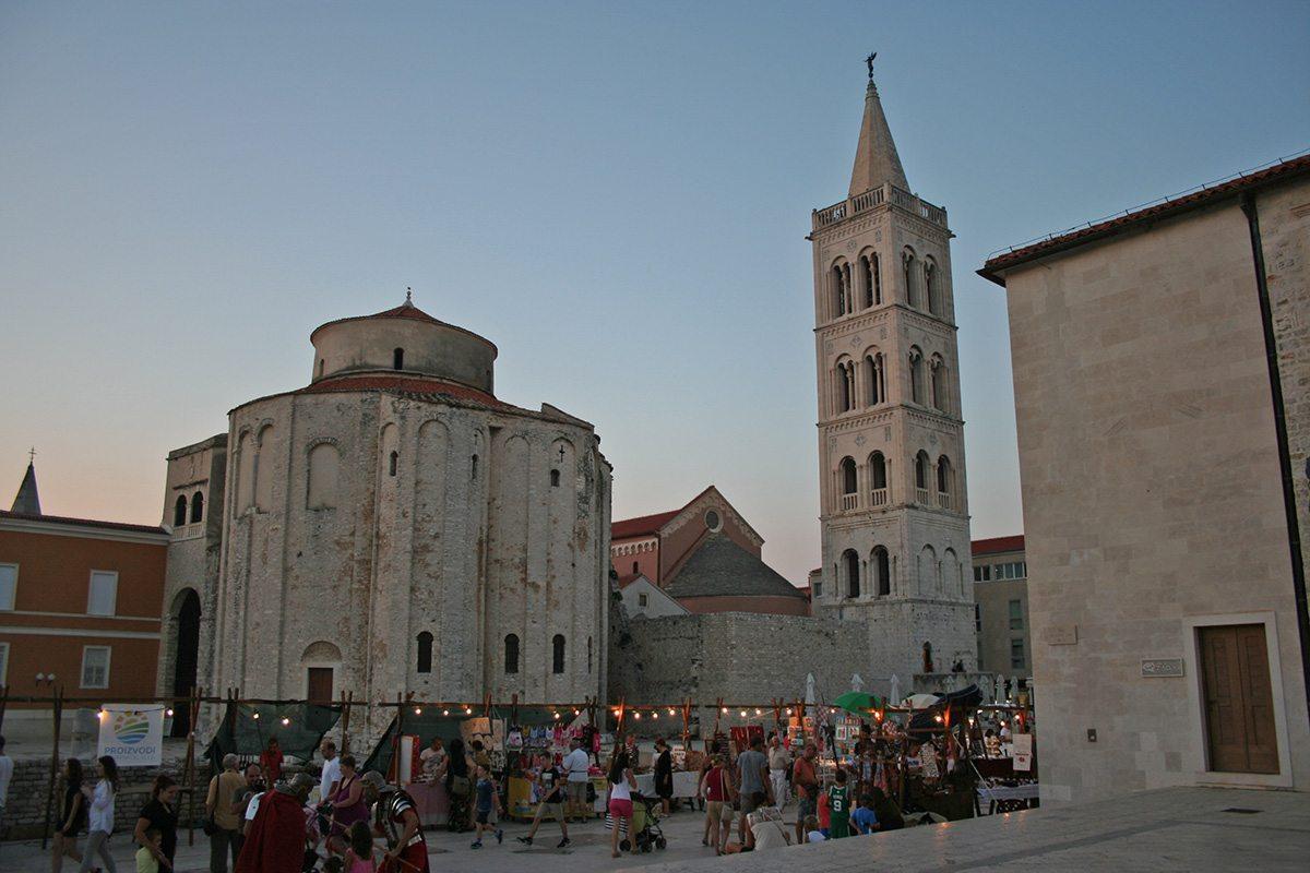 Kostol svätého Donáta - Zadar