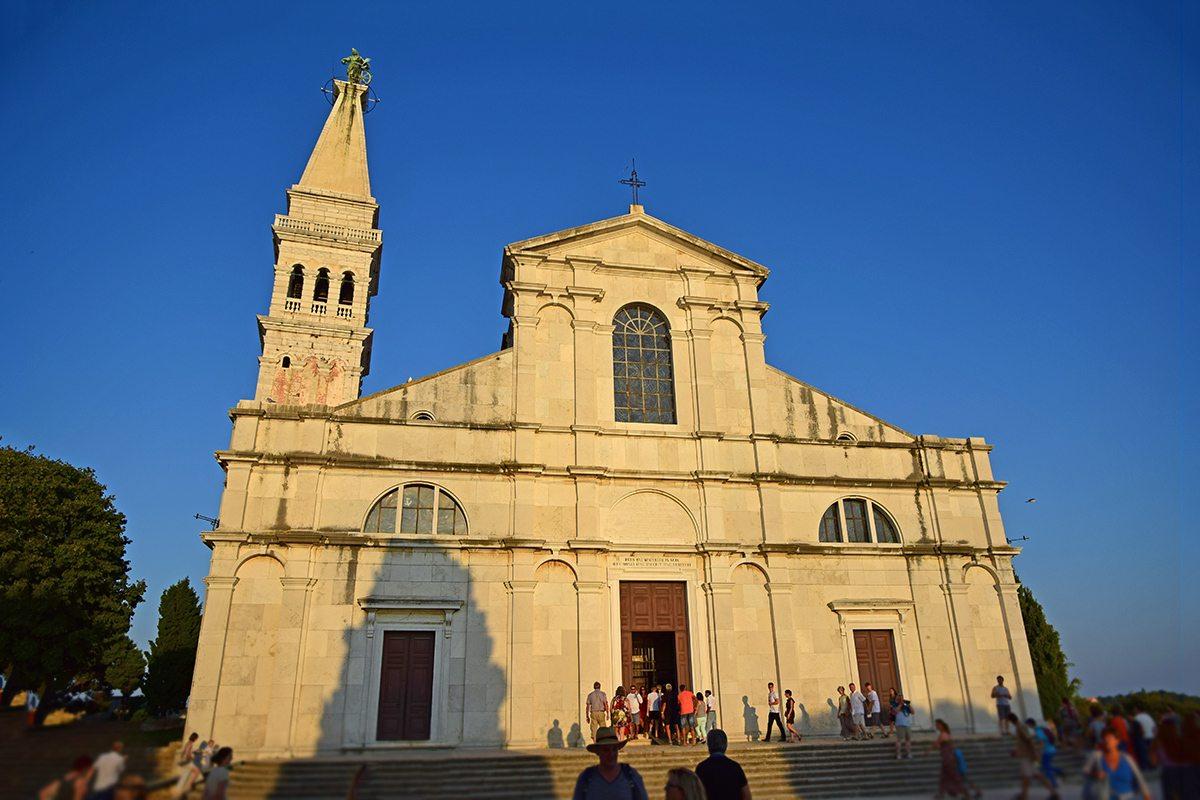 Rovinj kostol sv. Eufémie