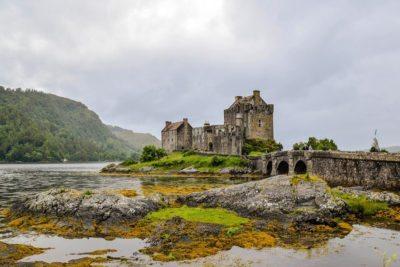 škótsko - Elian Donan castle