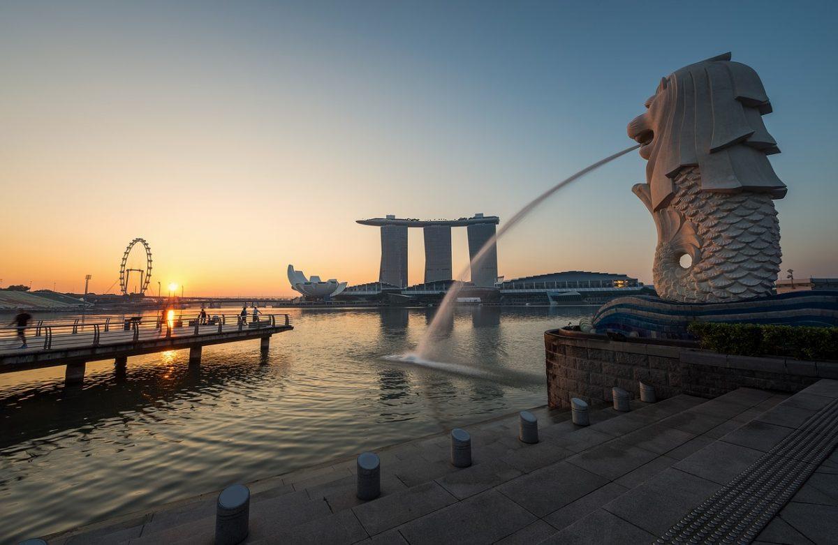 singapur - slnko