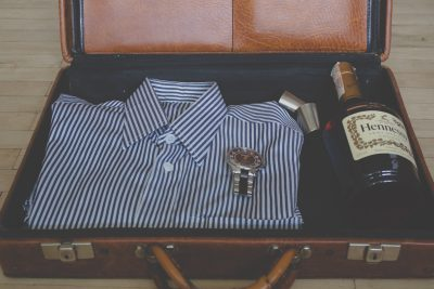 balenie na dovolenku - kufor
