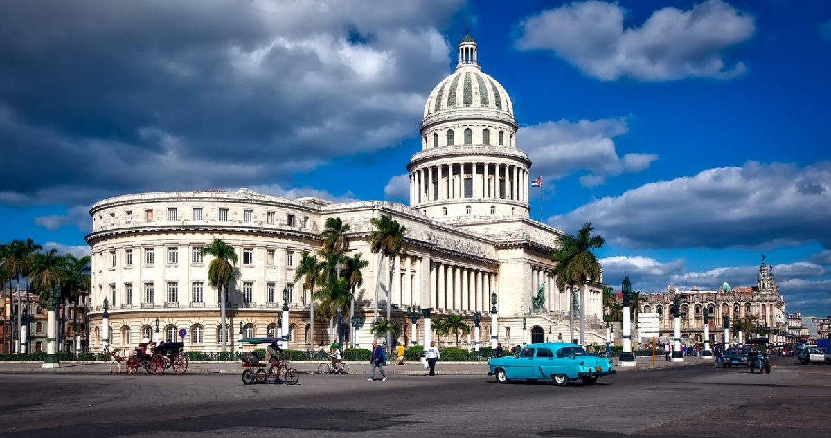 zimná dovolenka - kuba