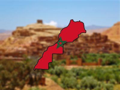 maroko mapa