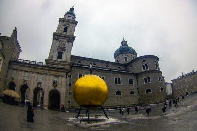 Kapitelplatz a salzburger dom - katedrála