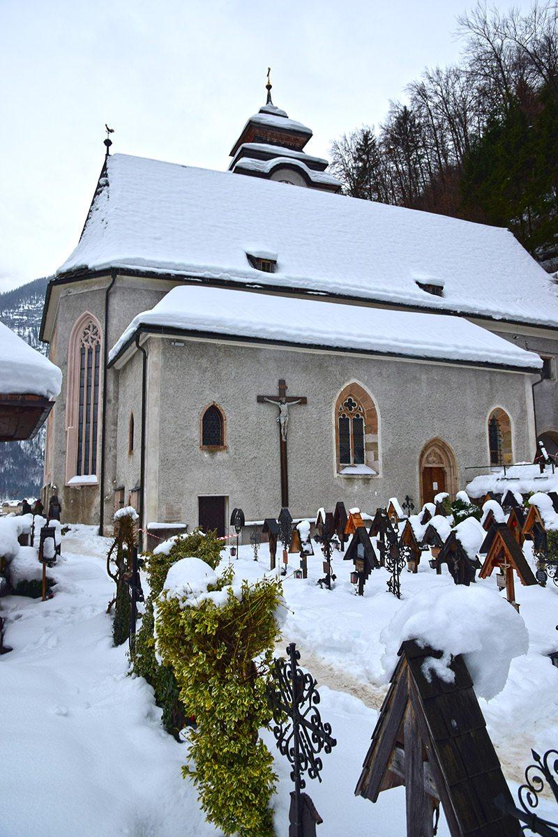 katolícky kostol Hallstatt